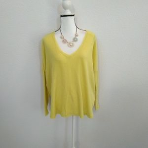 Out from under urban outfitters yellow knit top S